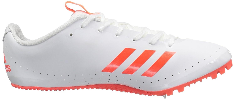 adidas Performance Sprintstar Running Shoe, Gris/Blanc/Rouge, 6,5 M Nous Solar Red/White/Infrared