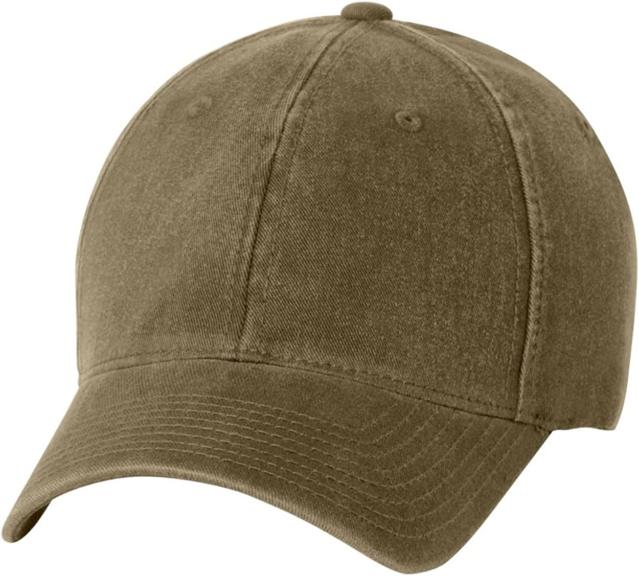 Yupoong Flexfit Mens Low-Profile Unstructured Fitted Dad Cap