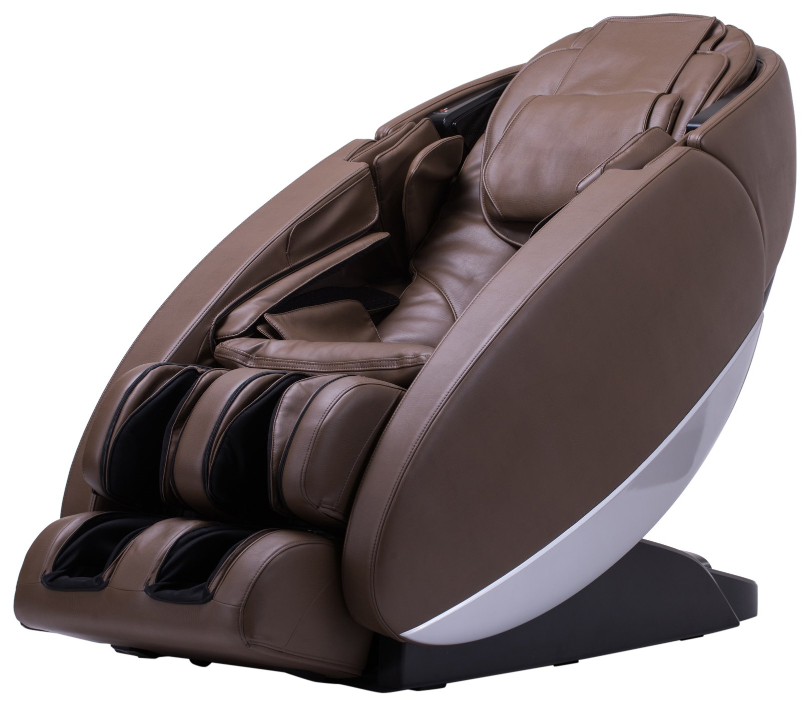 Human Touch ''Novo'' Full Body Coverage Zero-Gravity L-Track Massage Chair, Brown Color Option