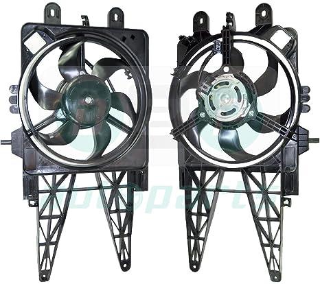 Motor con Ventilador de refrigeración para el radiador 46789115, 51742164 para Fiat Punto (188