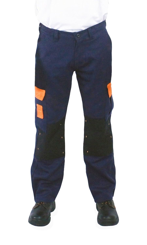 Kolossus Workwear PANTS メンズ ネイビー 32W x 30L 32W x 30Lネイビー B078J92J7B