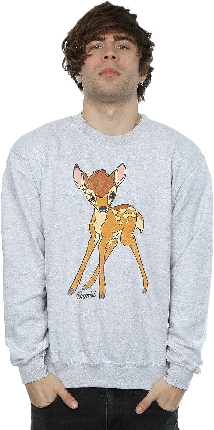 Disney hombre Bambi Classic Bambi Camisa De Entrenamiento: Amazon.es: Ropa y accesorios