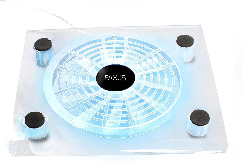 Eaxus®️ refrigerador ventilador de refrigeración PlayStation 4 - ❄️ Soporte de ventilador LED para PS4, PS4 Pro y otras consolas