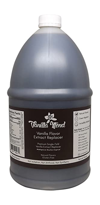 Vanilla Xtend Natural Vanilla Extract Flavor and Extract Replacer (1 Gallon)