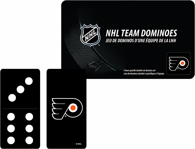 NHL Philadelphia Flyers Domino Set in Metal Gift Tin