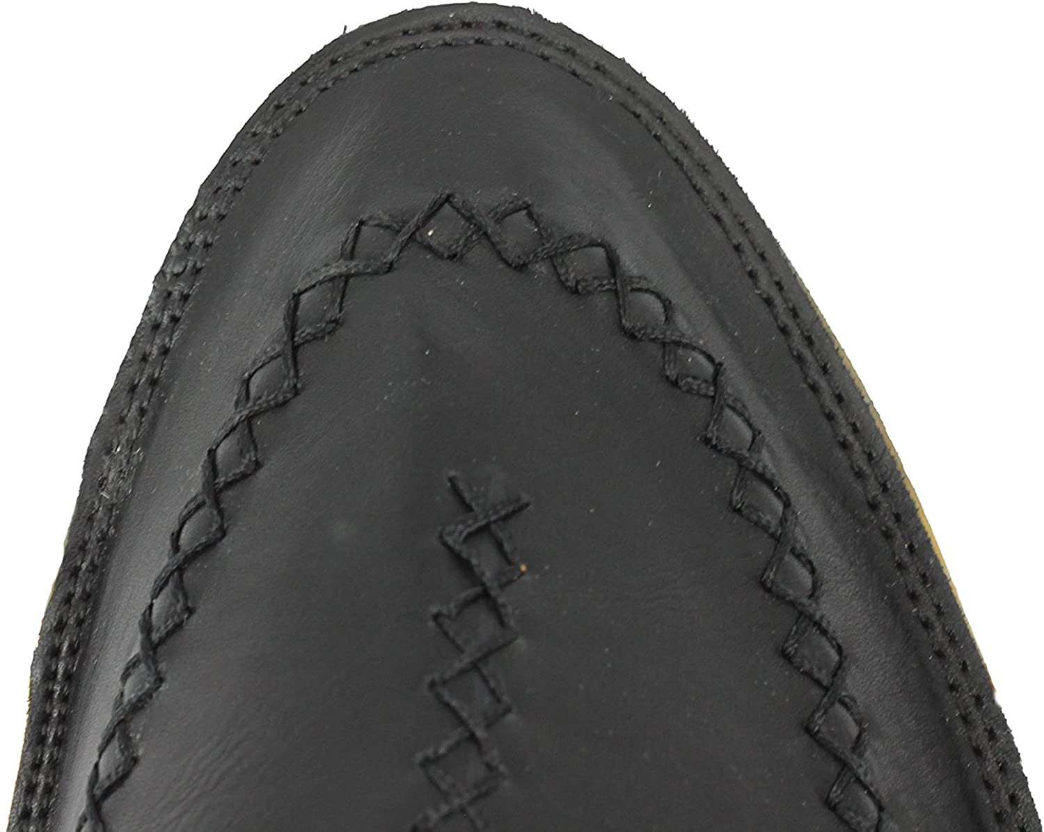 Mens Faux Leather Moroccan Babouche Slippers Slip on Pointy Shoes Folded Back in Black White Wine