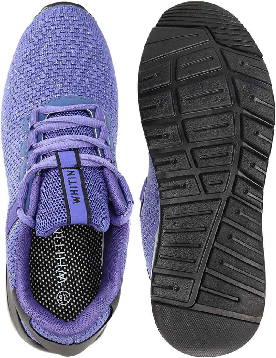 WHITIN Womens Walking Shoes Non-Slip Arch Support Platform Sneakers