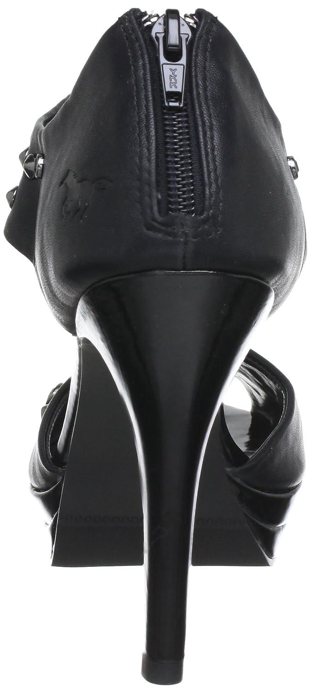 Mustang 3052-201 Damen-Peep Toe, Damen Damen Damen Pumps Schwarz (Schwarz) 256db0