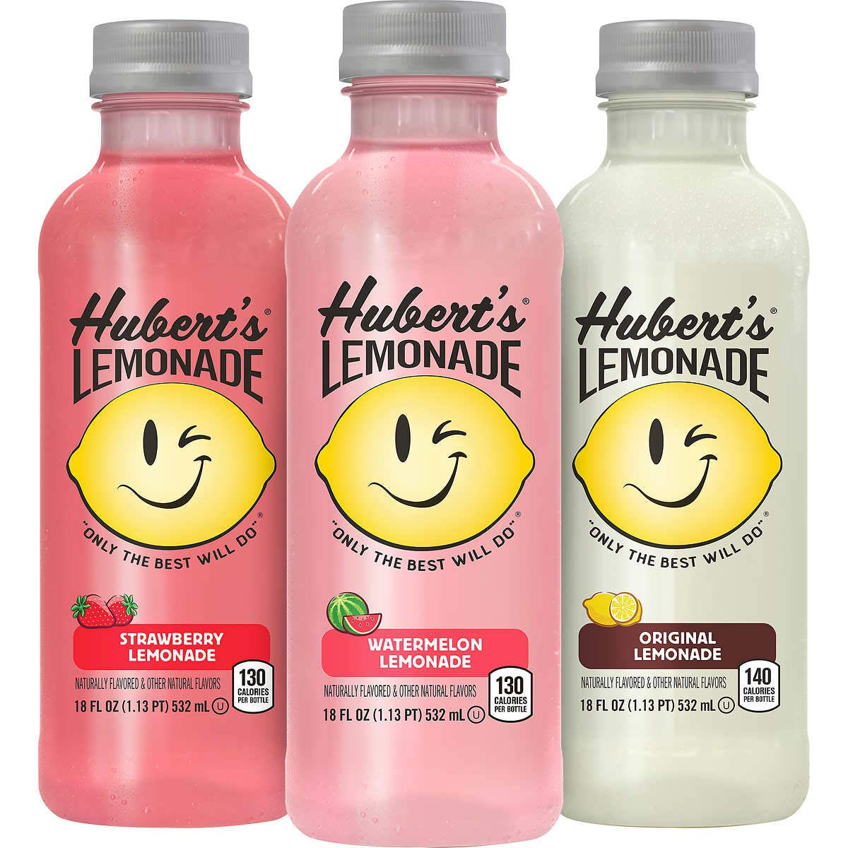 Hubert's Lemonade, Variety Pack, 18 oz, 12 count