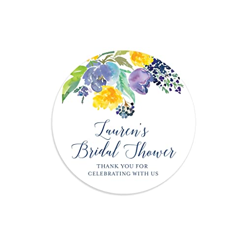bridal shower stickers floral bridal shower bridal shower labels bridal shower tags