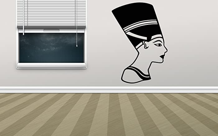 Egypt decor Pharaoh Pyramid Sphinx  Mummy Wall Decal Window Sticker Design Handmade 2679