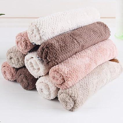 Toallas toalla de pelo de microfibra de secado toalla de baño toalla de lujo turbante pelo