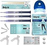 Briyte ® HOME Teeth Whitening Kit (TEETH WHITENING) Pro Teeth Whiten Tooth Whitening Dental Care White 3x GEL Bleaching Kit Briyte Crest UK Express