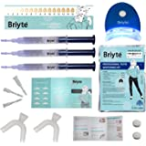 Briyte ® HOME Teeth Whitening Kit (TEETH WHITENING) Pro Teeth Whiten Tooth Whitening Dental Care White 3x GEL Bleaching Kit Briyte UK Express