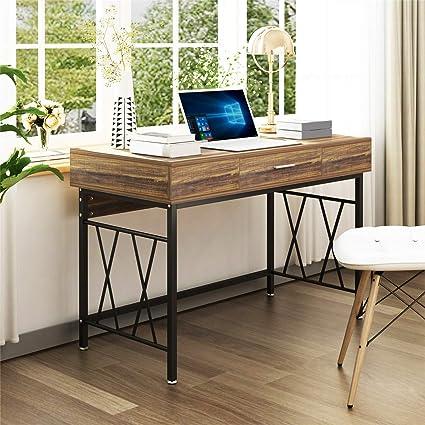 Escritorio para dos personas con cajones, escritorio para ...