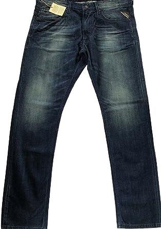 f8e38b6b Replay Men's Jeto Jeans Slim Straight: Amazon.co.uk: Clothing