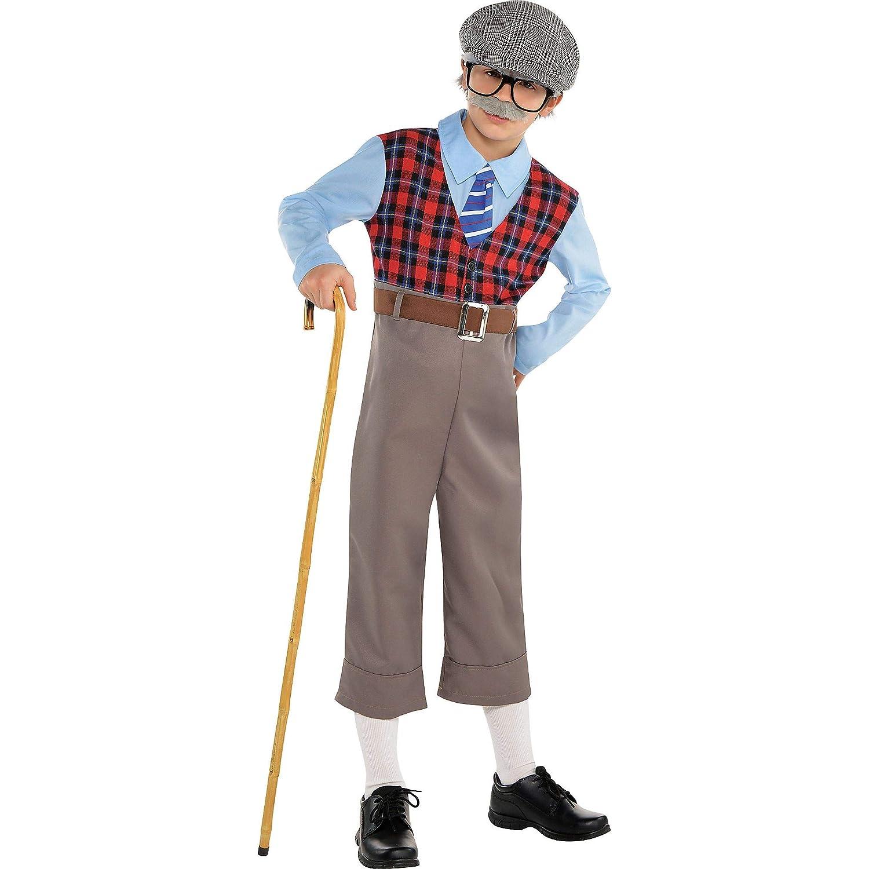 Amscan Old Geezer Child Grandpa Costume