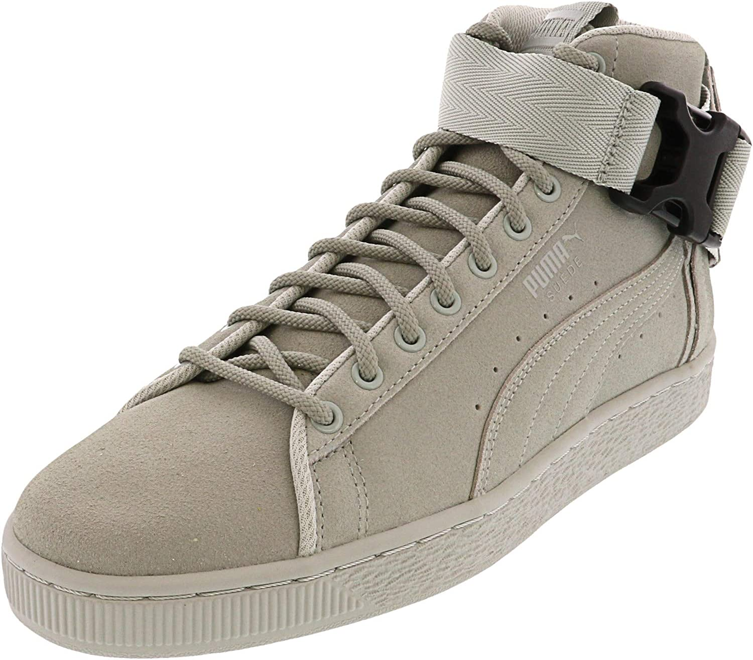 PUMA Mens Suede Classic Mid Buckle Lace