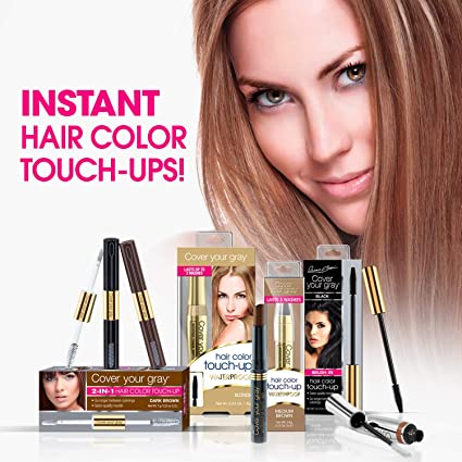 Cover Your Gray Hair Color Touch Up Stick Medium Brown