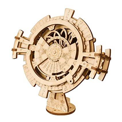 Amazon Com Shu Li 3d Wooden Mechanical Puzzle Diy Perpetual