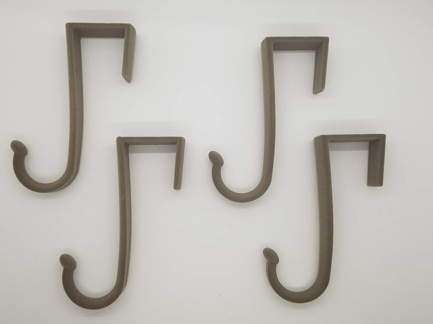 Linen Joy Mangano Huggable Hooks 4-Pack Over-The-Door Hooks