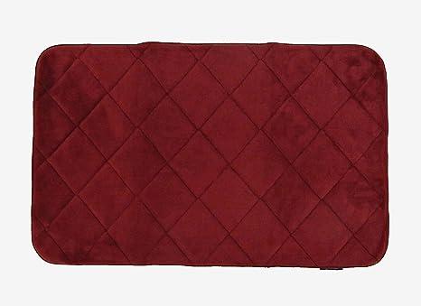 Tappeto memory rosso tappeto bagno create la vostra area