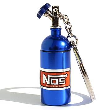 VmG-Store Mini Nos óxido de nitrógeno Botella para Llavero ...