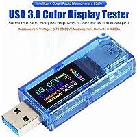MakerHawk USB 3.0 Tester, USB Power Meter, 3.7-30V 0-4A Voltage Tester Multimeter, USB Current Meter Tester, IPS Color Display Voltmeter Ammeter, USB Charger Tester AT34