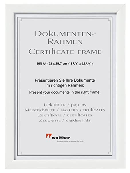 Walther Picture Frame Shades Frame, Plastic, white, 30 x 40 cm ...