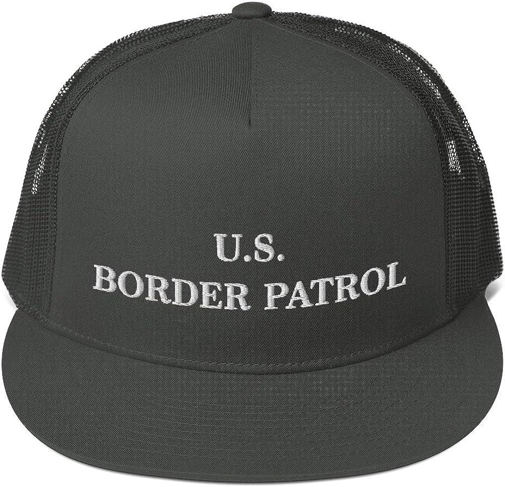 Hogue WS LLC US Border Patrol Hat (Embroidered Trucker Cap) Dept Homeland Security