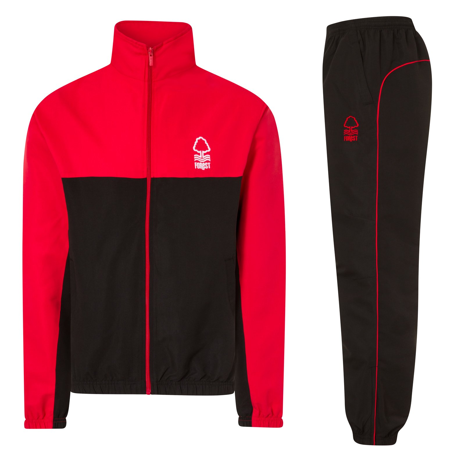 Nottingham Forest FC Official Gift Boys Jacket & Pants Tracksuit Set 2-3 Years