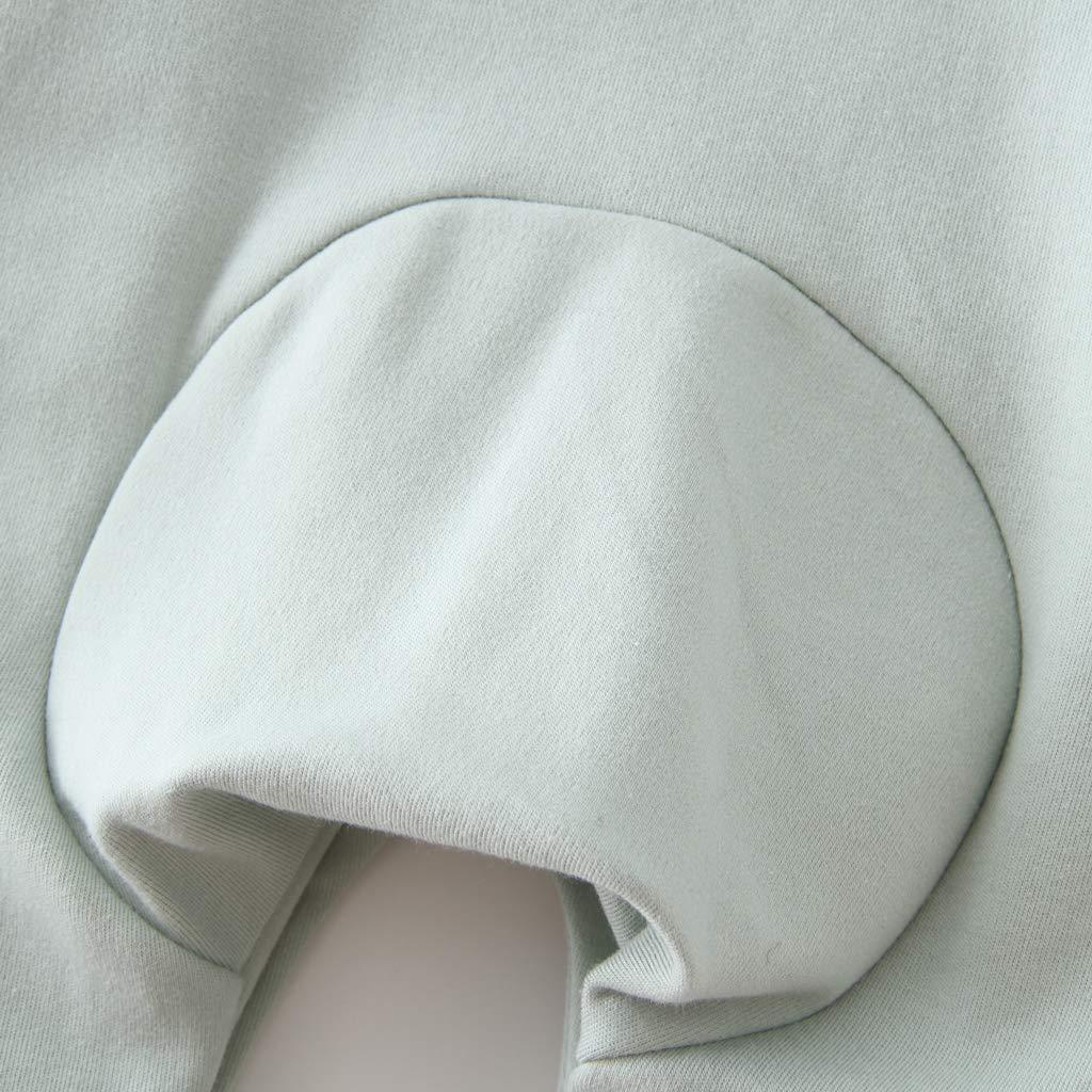 Pyjama B/éb/é Filles Gar/çons Combinaisons en Coton Grenouill/ères Bodys /à Manches Longues Cartoon Outfits