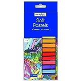 Work of Art Pinturas pastel suaves, 18 unidades
