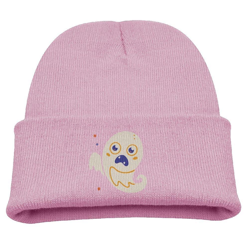 ZWZ Ghost Kid's Hats Winter Funny Soft Knit Beanie Cap, Unisex