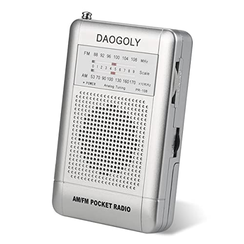Daogoly Portable pocket AM/FM radio review