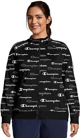 Champion Womens QJ352P Plus Track Jacket - Print Jacket