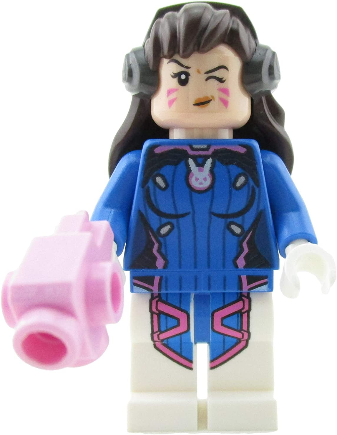 LEGO Overwatch D. Va Minifigure 75973 Mini Fig D.Va