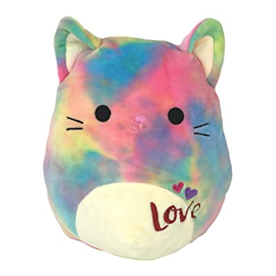 Squishmallows Kellytoy 8 Inch Cindy The Rainbow Cat: Toys & Games