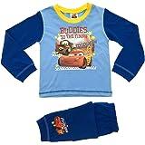 Kid Boys Official Disney Cars Lightning McQueen Long Pyjamas PJ'S 2 Piece Set Size UK 1-8 Years