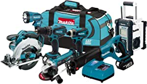 Makita LXT702 18-Volt LXT Lithium-Ion Cordless 7-Piece Combo Kit (Discontinued by Manufacturer)