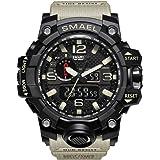 SMAEL Men's Sports Analog Quartz Watch Dual...
