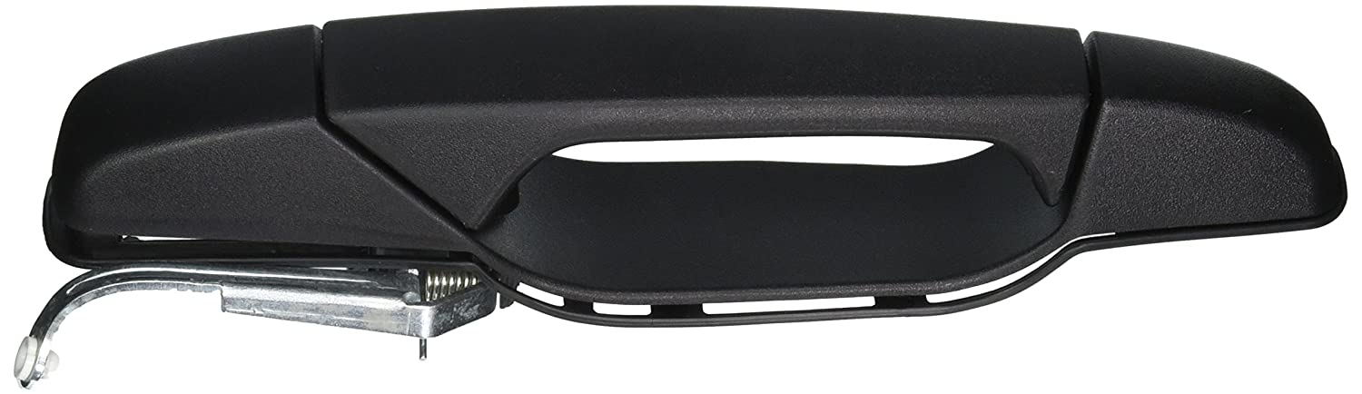 Primed Black Outside Exterior Outer Door Handle Driver Side Rear PT Auto Warehouse GM-3545P-RL
