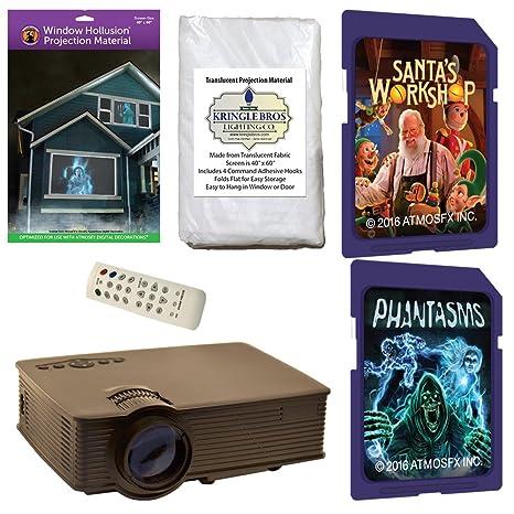 atmosfearfx Navidad y Halloween Kit de decoración digital ...