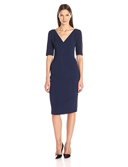 9e1c6362 Black Halo Women's Jeanette Sheath Dress: Amazon.co.uk: Clothing