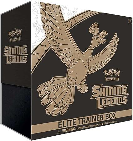 10 Packs Pokemon Shining Legends Elite Trainer Box Brand New Sealed Sleeves