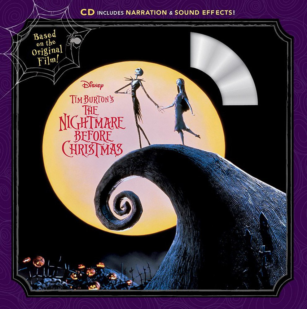 Tim Burton\'s The Nightmare Before Christmas Book & CD: Disney Book ...