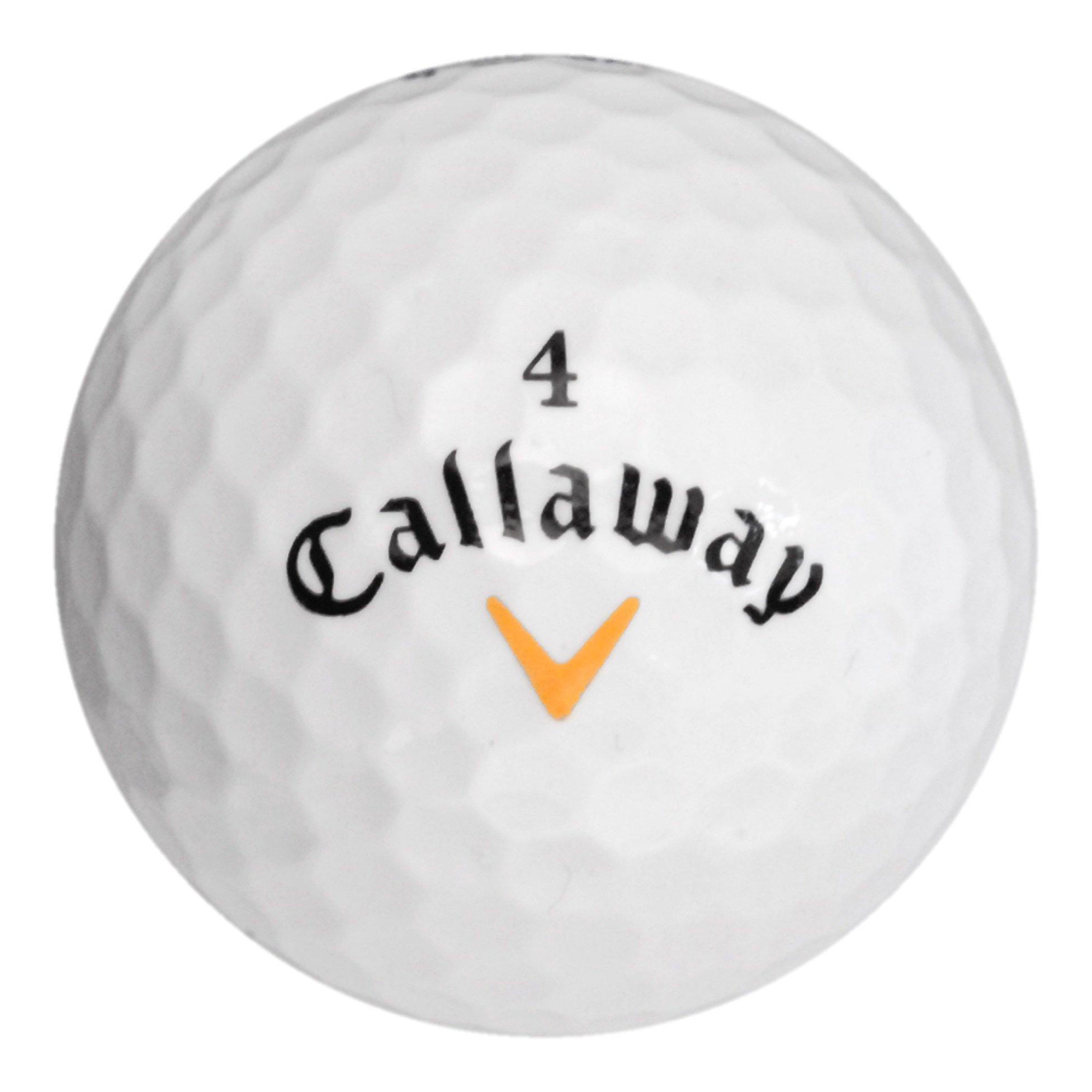 132 Callaway Warbird - Value (AAA) Grade - Recycled (Used) Golf Balls by Callaway (Image #4)