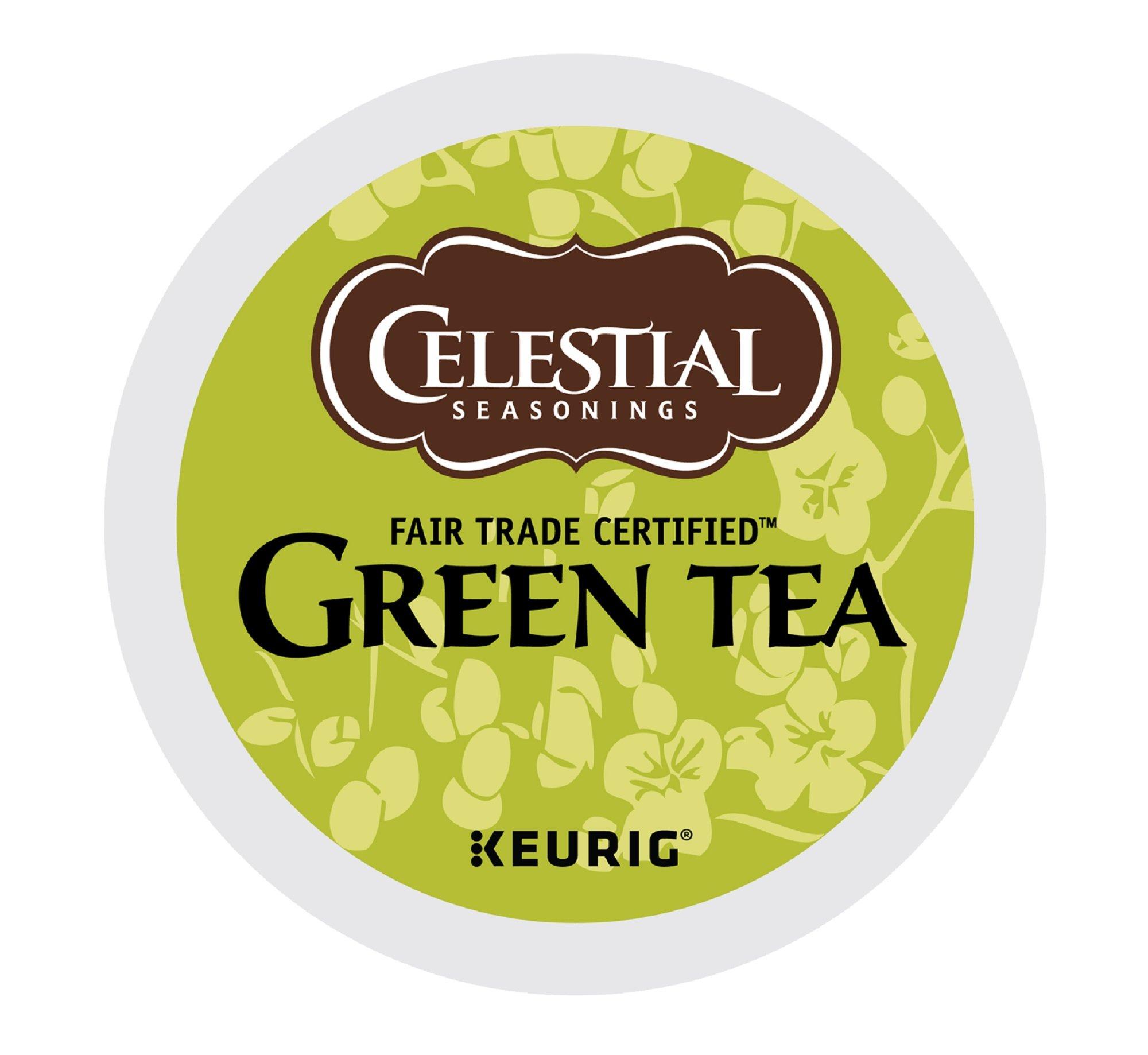 Celestial Seasonings Green Tea K-Cups, Authentic, 96-Count