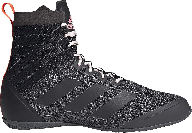adidas Speedex 18 Boxing Trainer Shoe Boot Black/Red