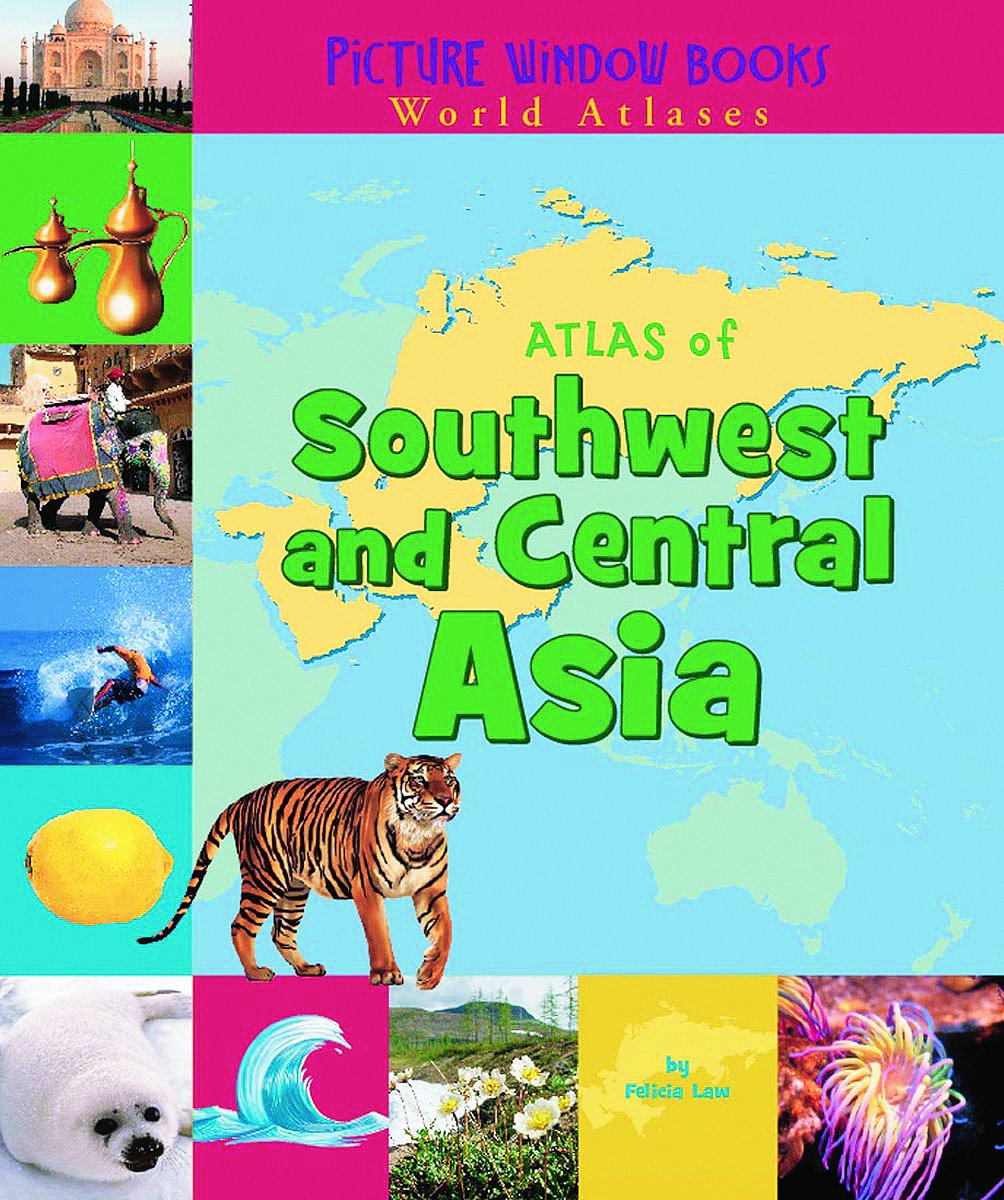 Atlas of Southwest and Central Asia (Picture Window Books World Atlases) PDF